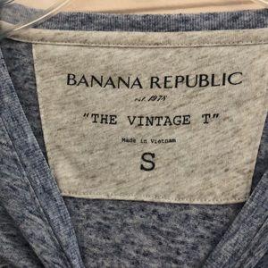 Banana Republic Shirts - Blue tee